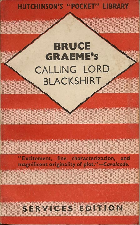 HPL13 Calling Lord Blackshirt