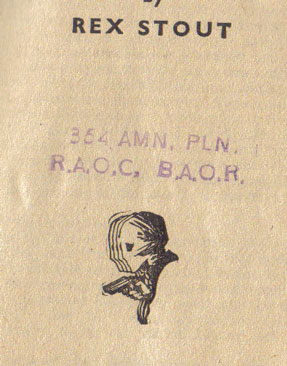 354 AMN. PLN. RAOC, BAOR